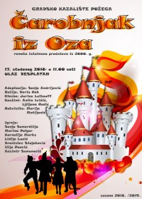 Čarobnja iz Oz-a - Gradsko kazalište Požega