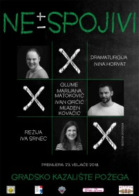 Nespojivi - gostovanje u Zagrebu