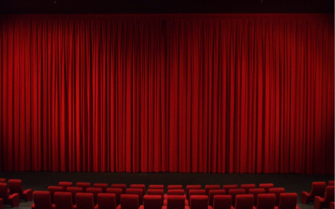 Theatre Movie Curtains Stock by PyronixcoreStock